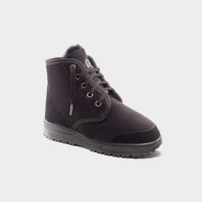 Desert boot .Black