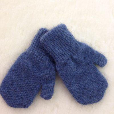 Possum/merino mittens