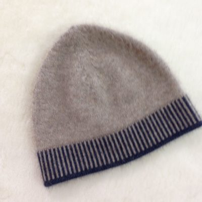 Possum/merino blend child hat