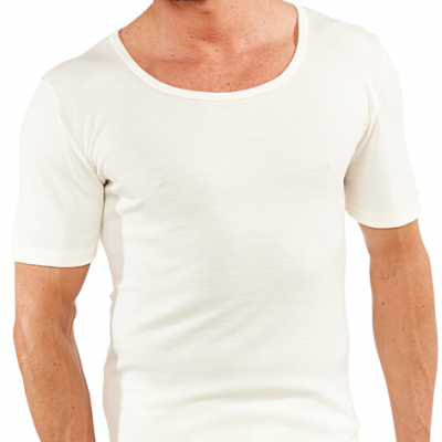 Short sleeve merino underwear