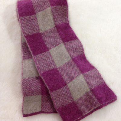Possumfur & merino scarf