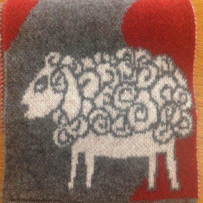 possum/merino blend scarf