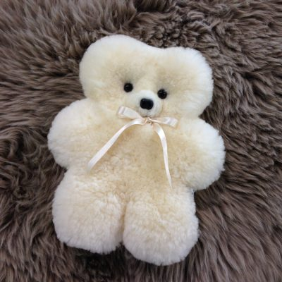 Bone flat teddy