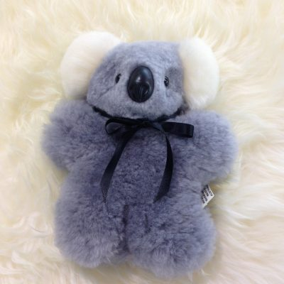Light grey flat koala