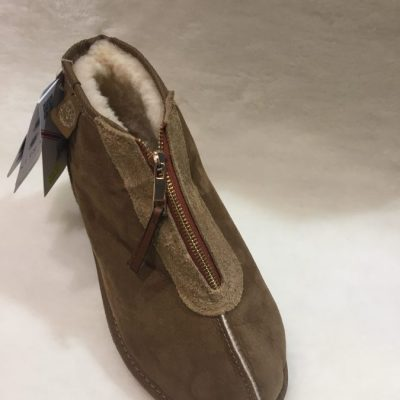Zip front Eildon slipper boot $159.95