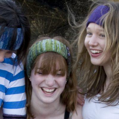 Headbands in various colour mixes