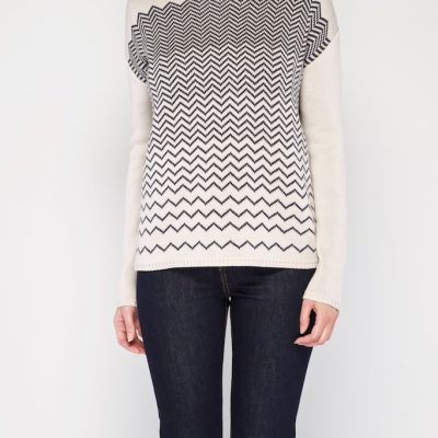 Herringbone sweater