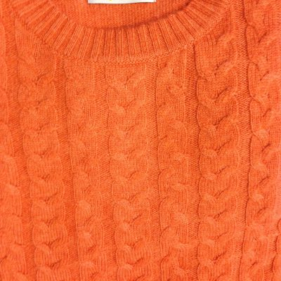 Fabulous cable cashmere sweater