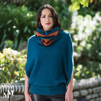 gorgeous new loop scarf in Cravasse/Paprika