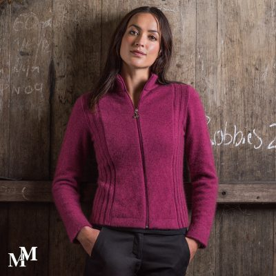 For those who like pink tones,Tui jacket in Magnolia
