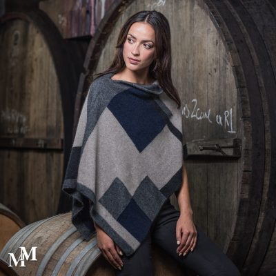 Empress Poncho in Slate