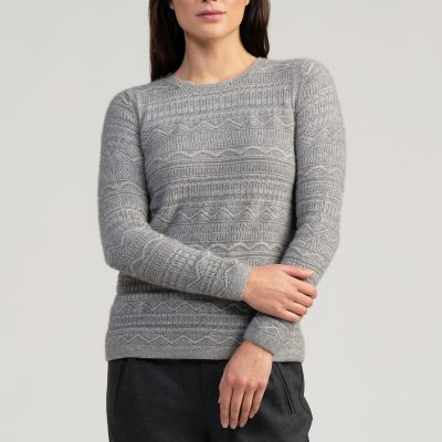 Peak Crop Sweater Loft
