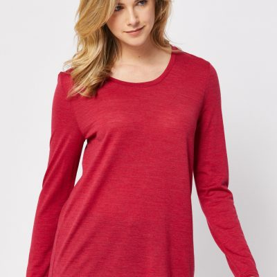 Scoop Merino top