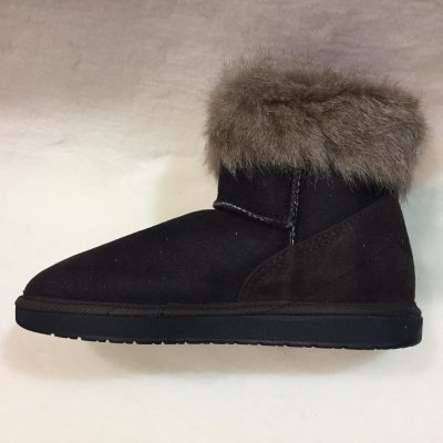 Roo fur trim mini boot $219