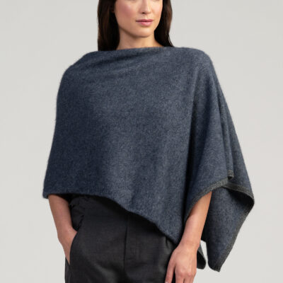 Two tone poncho River