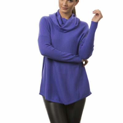 Cowl neck tunic