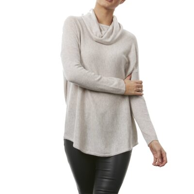 Cowl neck tunic...numerous colours