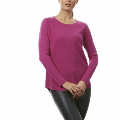 Shaped tunic.Available in navy,charcoal,fuchsia