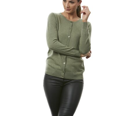 Classic cardigans in numerous colours