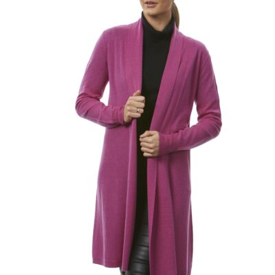 Edge to edge long line cardigan