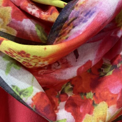 More coloured scarves