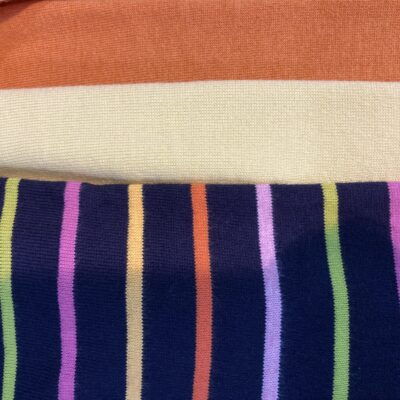 Gorgeous colour in stripe jumper from Goondiwindi.Plain polo neck jumpers from Bridge & Lord.Approx 12 colour choices!!