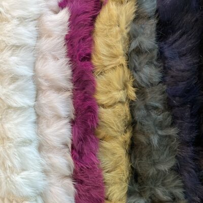 Rabbit ponchos in new colours.